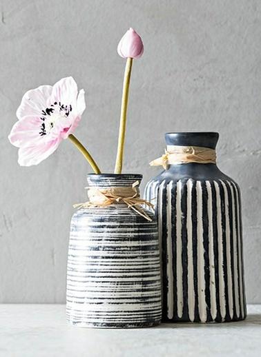 Warm Design Vintage Vazo  Renkli